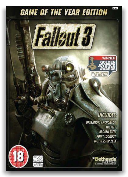Fallout 3: Game of the Year Edition (Bethesda Softworks) (RUS|RUS) [RePack] by xatab