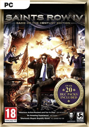 Saints Row 4: Game of the Century Edition (2014) PC | RePack  by xatab