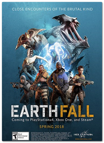 Earthfall Invasion (2018)  RePack от xatab